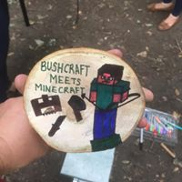 Minecraft Meets Bushcraft!!!